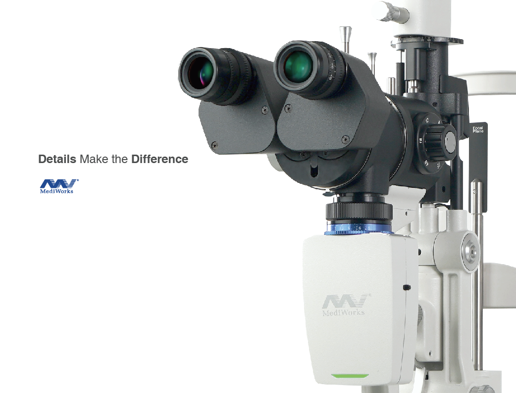 MediWorks S390L Slit Lamp Supports Real-time Infrared Video Feed for o-MGD Probing
